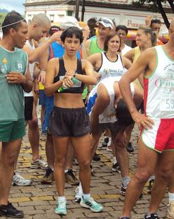 Marizete Rezende, campeã da São Silvestre