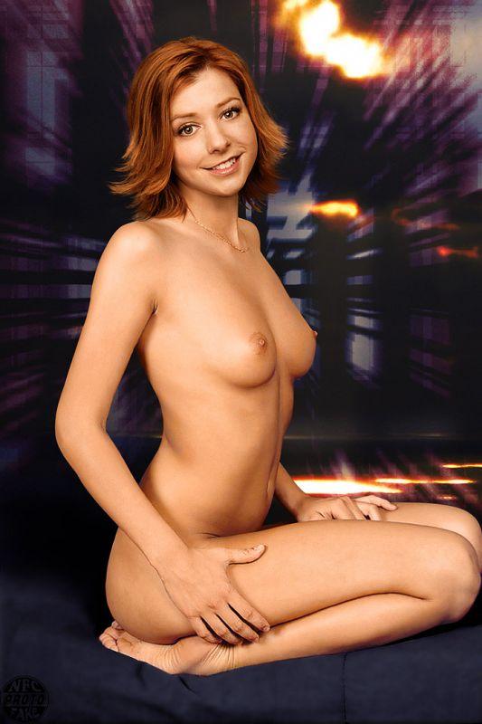 Alyson Hannigan nackt Nacktbilder & Videos, Sextape