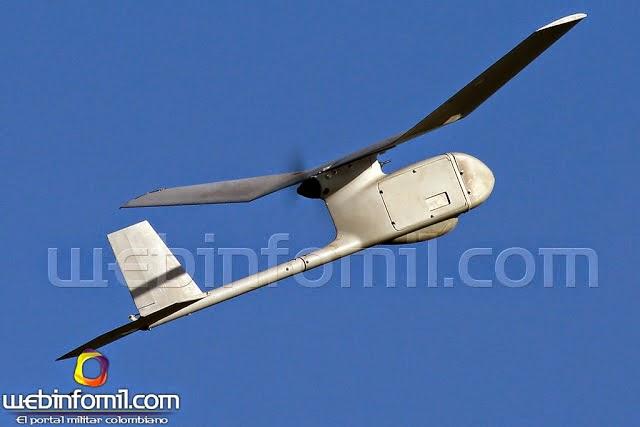 RQ-11B Raven Ejército de Colombia