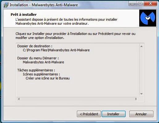 telechargement et instalation de malwarebytes antivirus