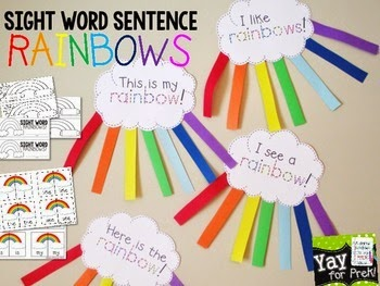 https://www.teacherspayteachers.com/Product/FREE-Sight-Word-Rainbows-for-PreK-and-Kindergarten-1137384
