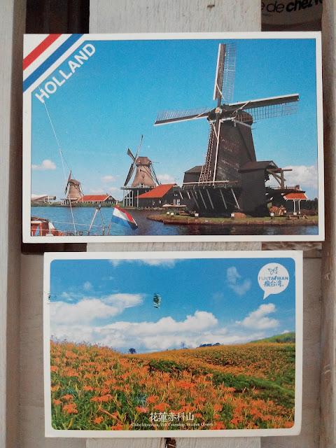 postcrossing, carte postale, bullelodie