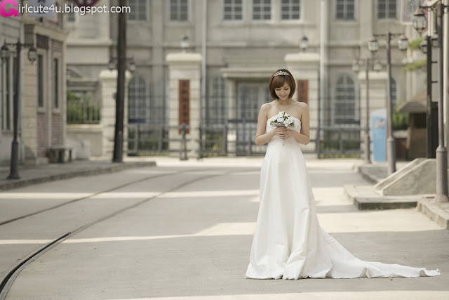 2 Kang Yui - Wedding Dress-very cute asian girl-girlcute4u.blogspot.com