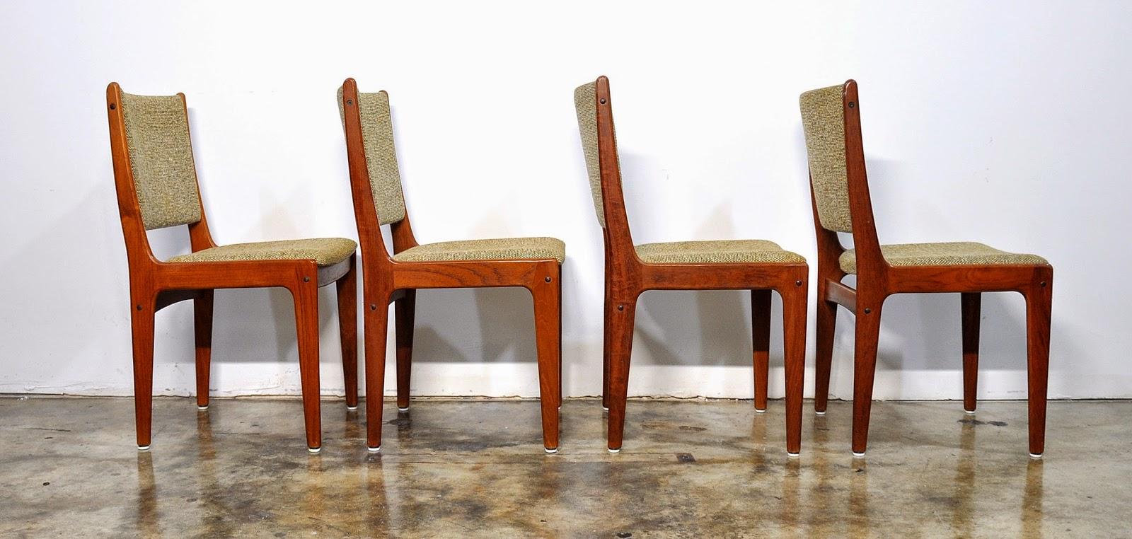 SELECT MODERN Set of 4 Danish Modern Teak Dining Chairs : ScandinavianTeakDiningChairs7 from midcenturymoderndesignfinds.blogspot.com size 1600 x 762 jpeg 241kB