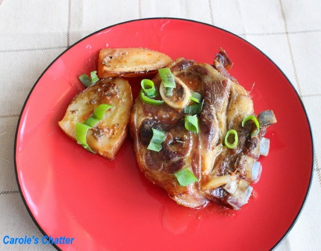 Slow cooked Lamb Shoulder Chops by Carole's Chatter