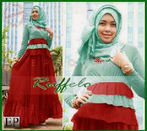Baju Maxi Remaja Ruffelo P799