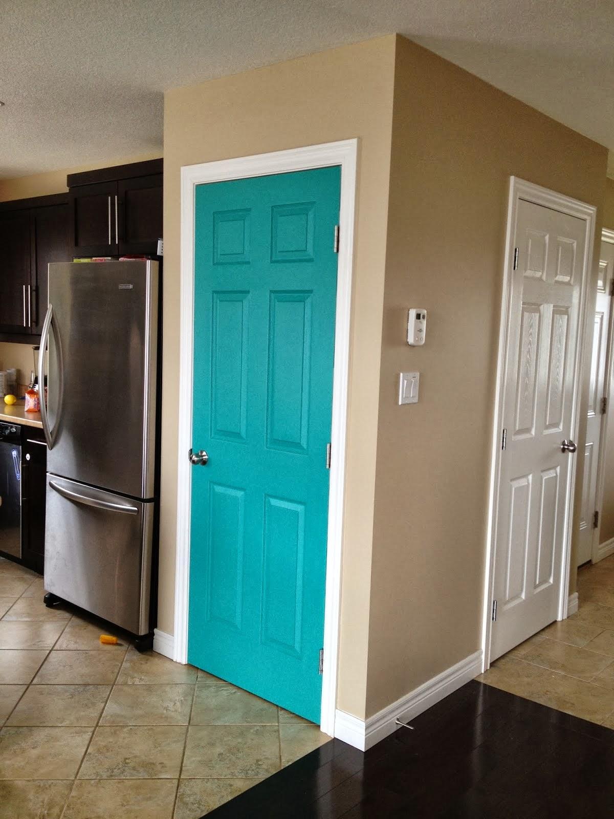 Lil Sprinkles Of Joy Painted Pantry Door
