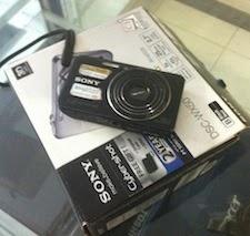 jual kamera 2nd sony cybershoot dsc-wx50