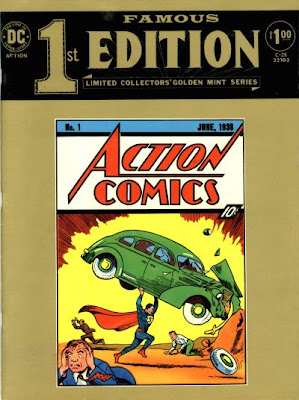 DC Famous 1st Edition, C-26, Superman in Action Comics #1