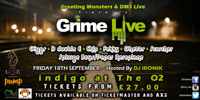 CATCH GIGGS, FEKKY, CHIP, D DOUBLE E & MORE @ GRIME LIVE!