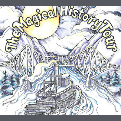 The poster for the Magical History Tour at Cascade Locks. (From Port of Cascade Locks)