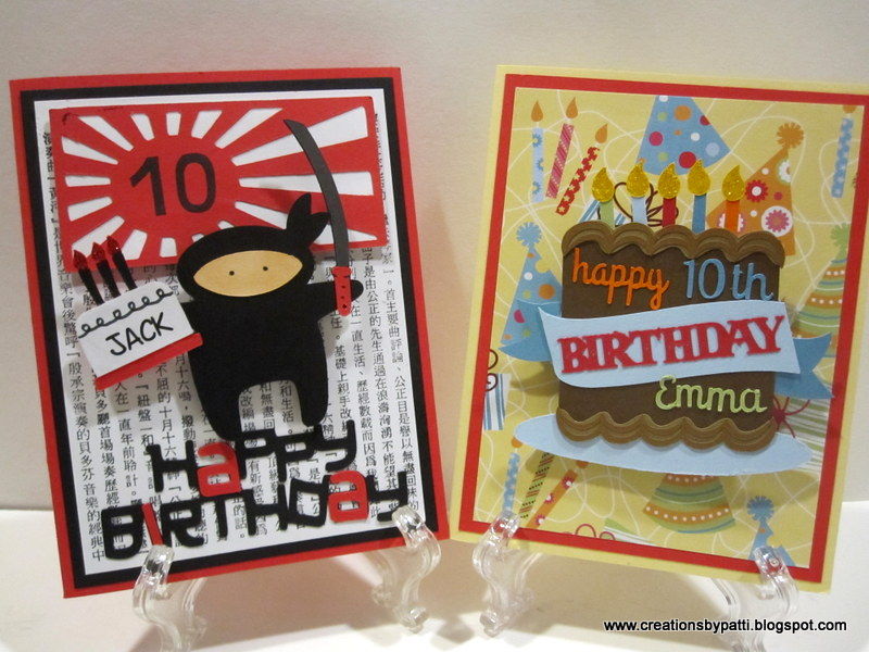 Creations By Patti Birthday Cards