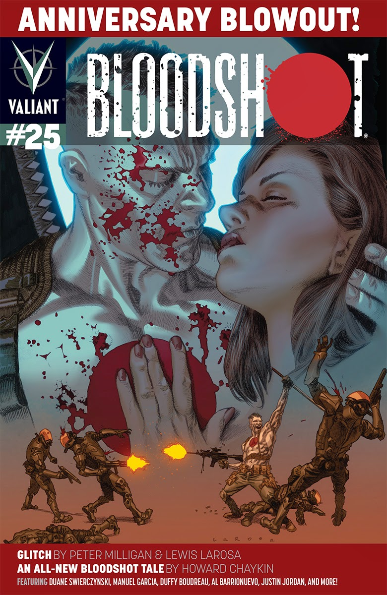 BLOODSHOT #25 – Cover A by Lewis LaRosa