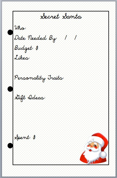 easy as diy  christmas 2015 planner pages