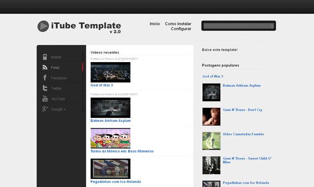 Youtube Blogger Templates Youtube Video Blogger Templates: February 2013
