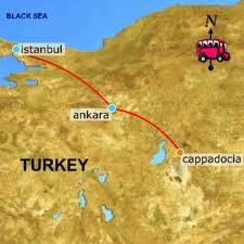 Where is Cappadocia Easy Reaod Way to Reached