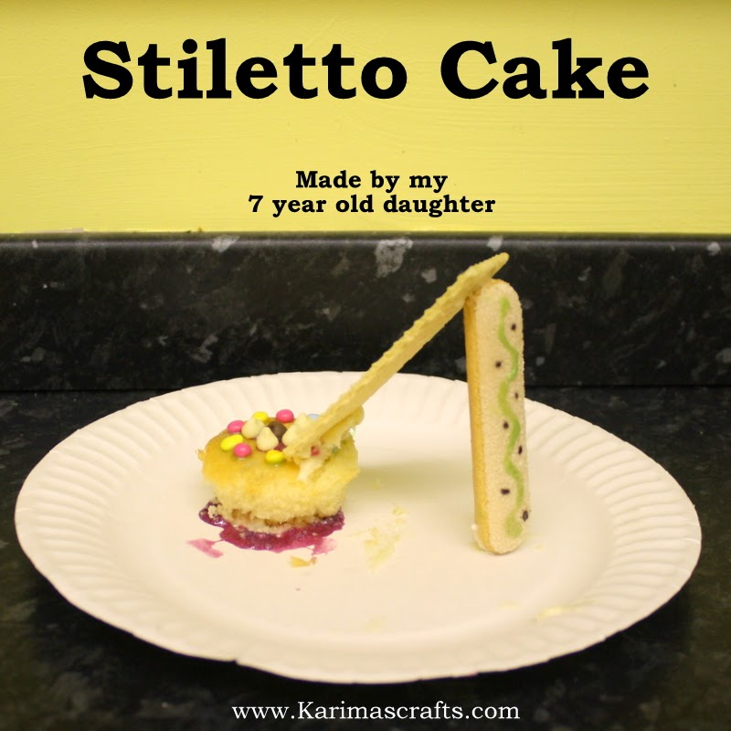 stiletto high heel cake