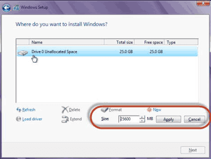 Cara Install Windows 8-9