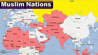 Muslim Nations Post-Psalm 83