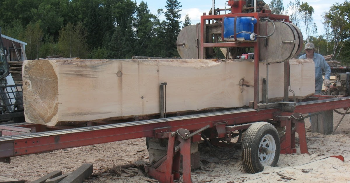 wille logging lumber timber sawing large