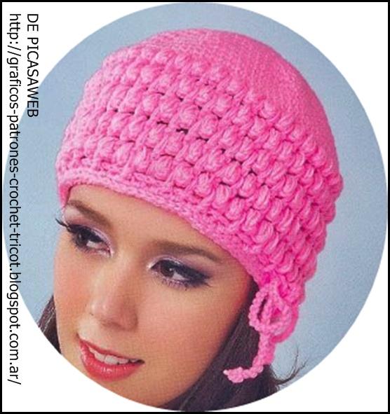 Sombrero al crochet - Tiempo Libre - Wiki - Tiempo Libre ...