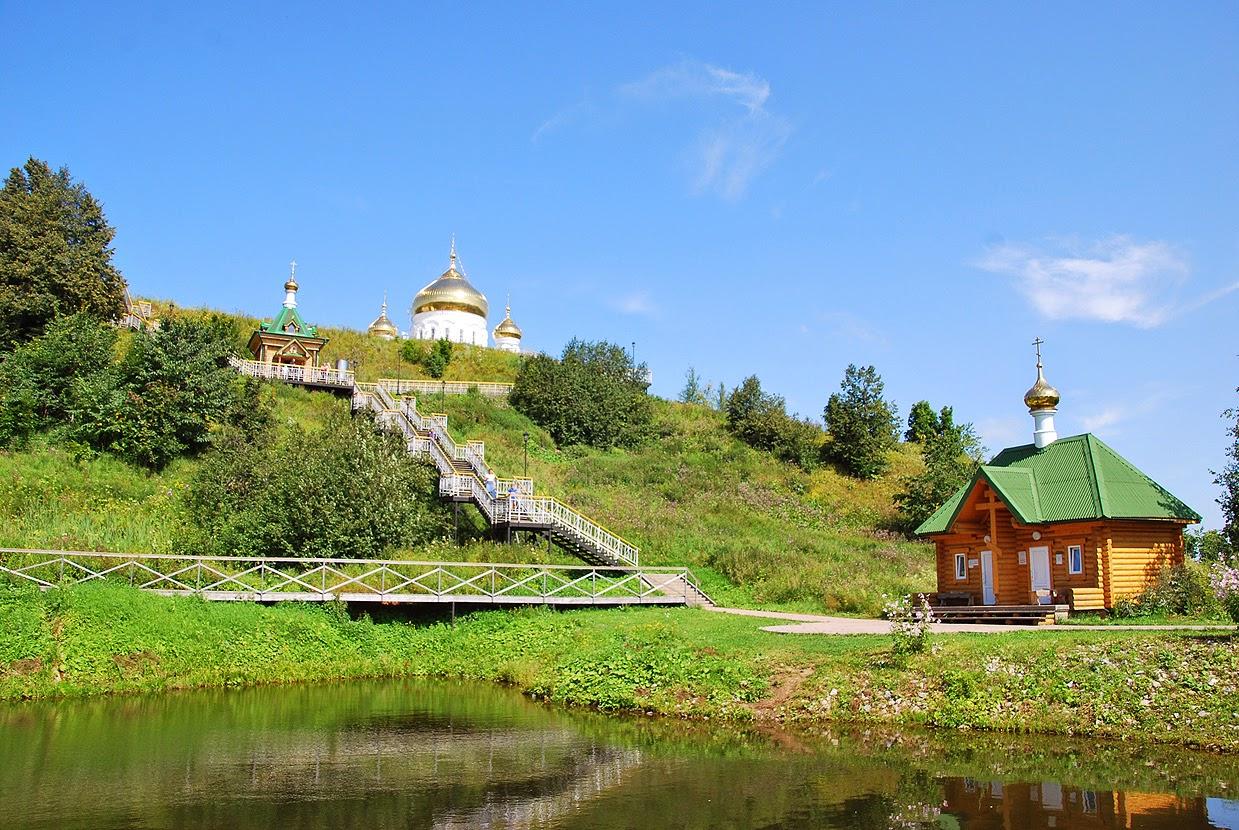 Прудик в белогорском монастыре