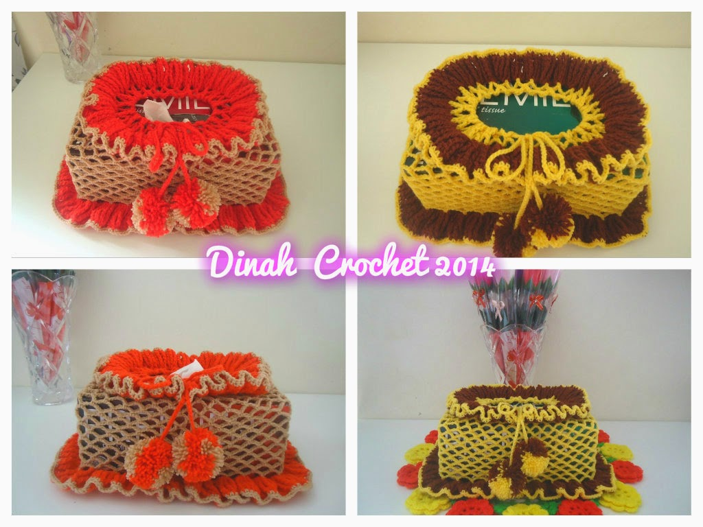 Dinah Crochet: Tissue box cover