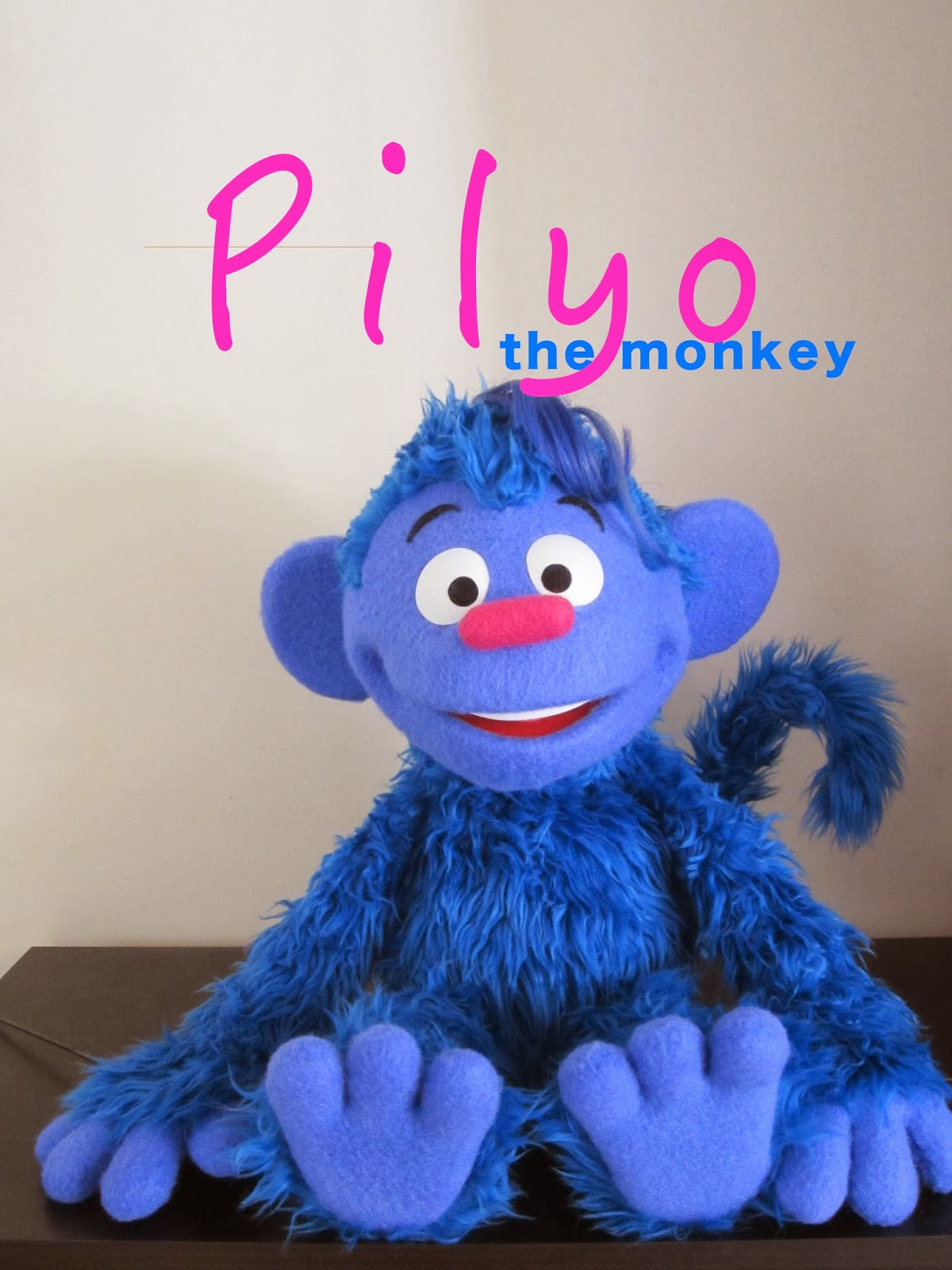 jarrod boutcher puppets pilyo the monkey helping relief in
