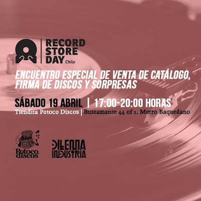 Record Store Day en Chile en Potoco Discos y Dilema Industria