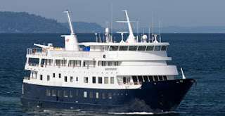 American Safari Cruises' Safari Endeavour - Refitted and Naming in Seattle