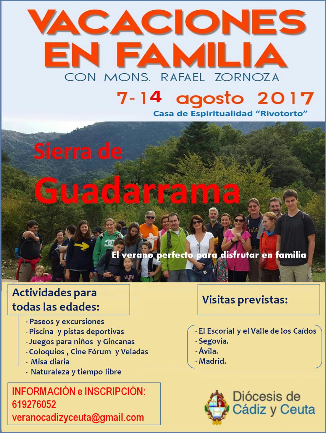 VACACIONES VERANO 2017