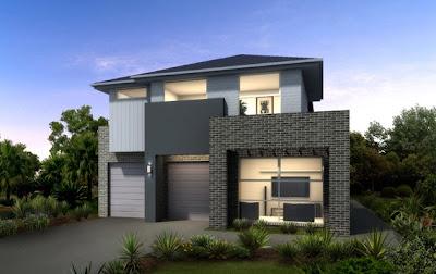 Fachadas de casas modernas con ideas para revestimientos for Frentes de casas modernas con piedras