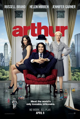 Russell Brand - Arthur Film Poster