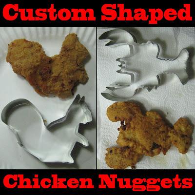 Chicken Nugget Plätzchen selber machen