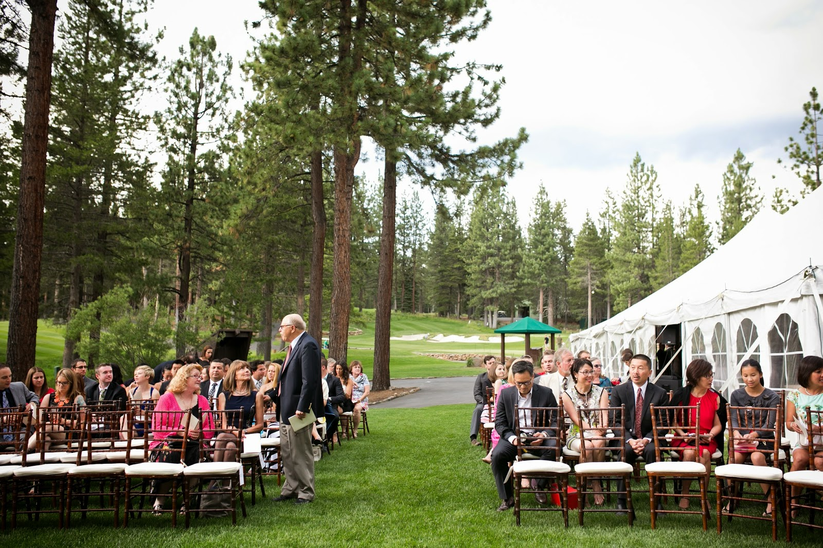 Tahoe Mountain Wedding Ceremony // Kacie Jean Photography // Take the Cake Event Planning