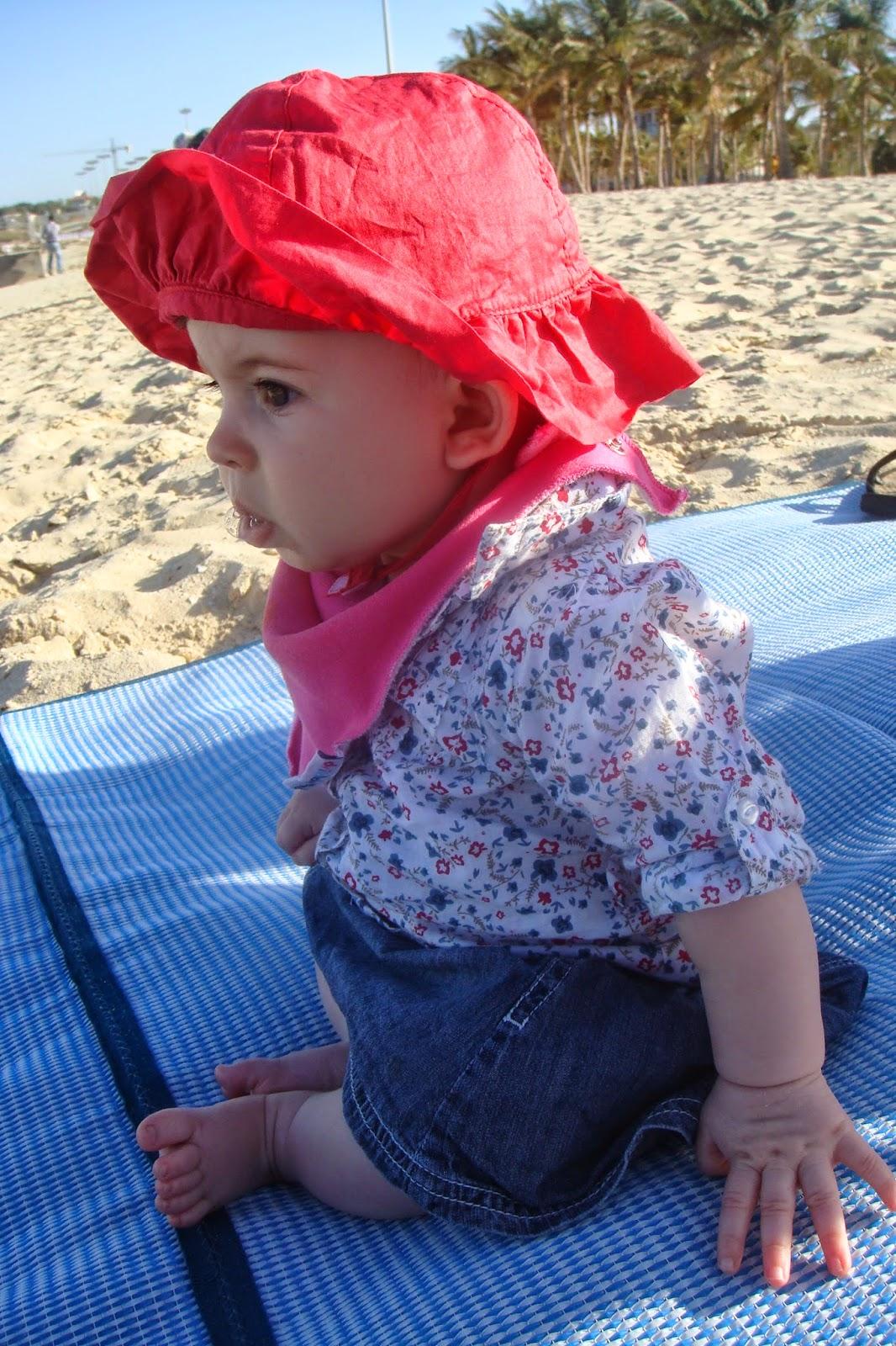 beach in sun