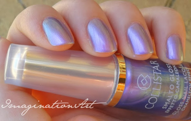 Collistar n°632 Ametista Camaleonte swatch swatches nail polish lacquer smalto