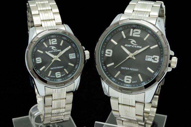 Jam Tangan RipCurl Couple Super KW - Hitam