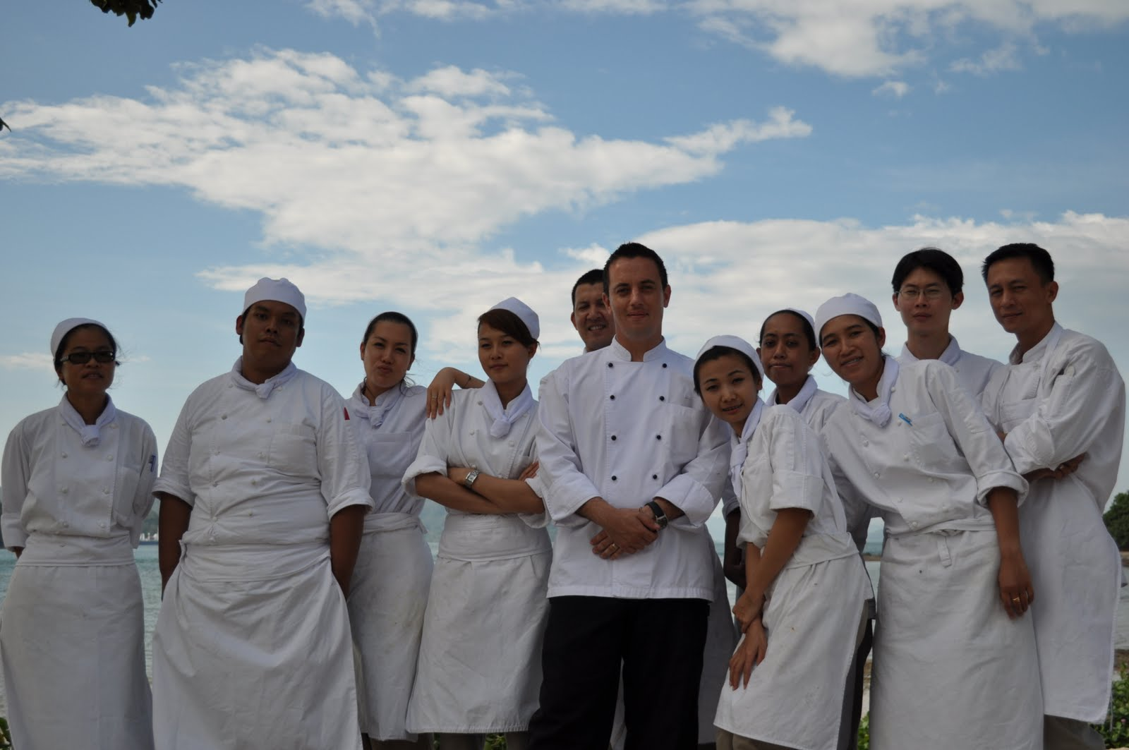 The Pastry Chef....at The Naka Island A Luxury collection Resort & Spa Phuket
