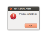 Alert Box in JavaScript