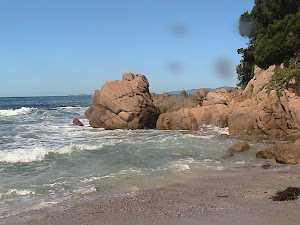 la spiaggia di Verghia