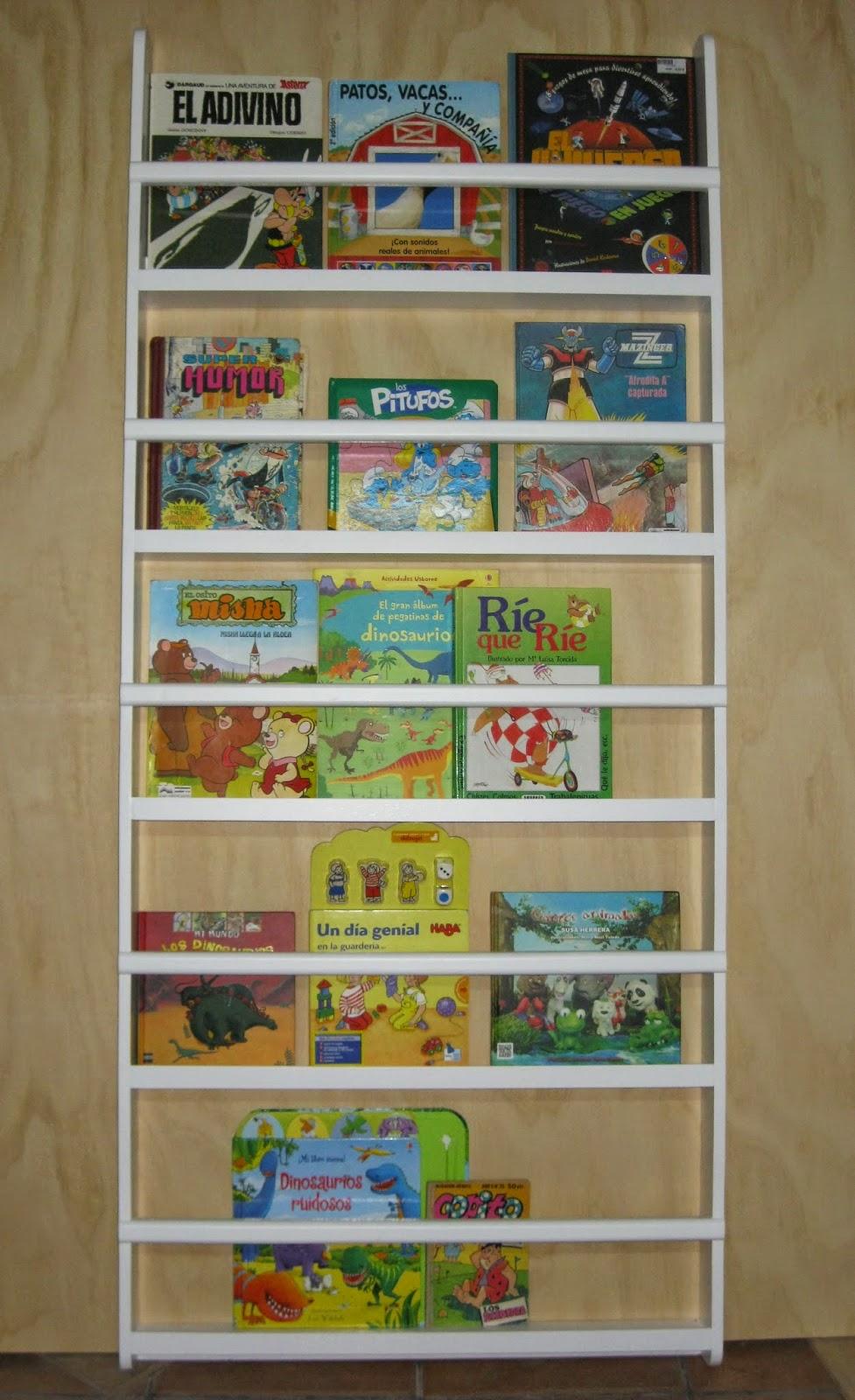 Estanter a infantil para libros kids bookshelf el garaje de la madera - Estanteria libros infantil ...