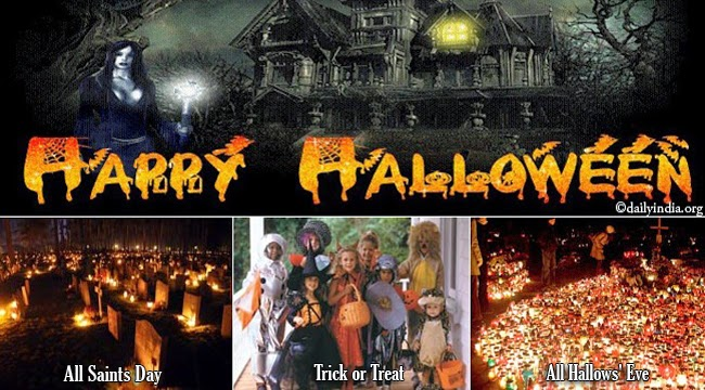 Origin of Halloween 'Trick or Treat' and All Saints Day Celebration