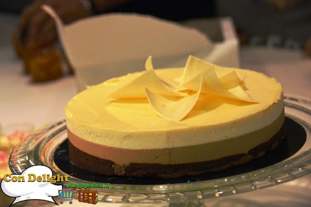 עוגת 3 שכבות Three layers cake
