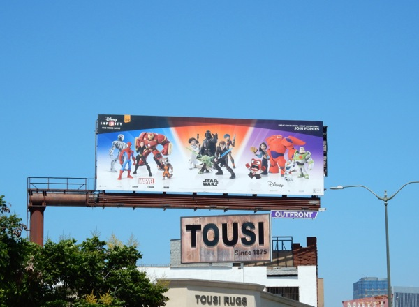 Disney Infinity 3.0 billboard