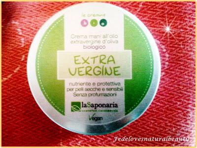 Crema mani extravergine la Saponaria...per un uso alternativo