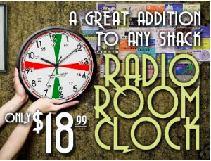 Radio Room Clock Replica