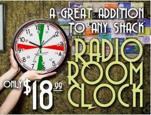 Radio Room Clock Replica