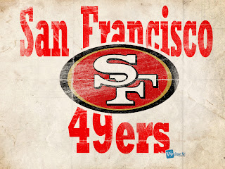 San Francisco 49ers Logo on Old Paper HD Wallpaper