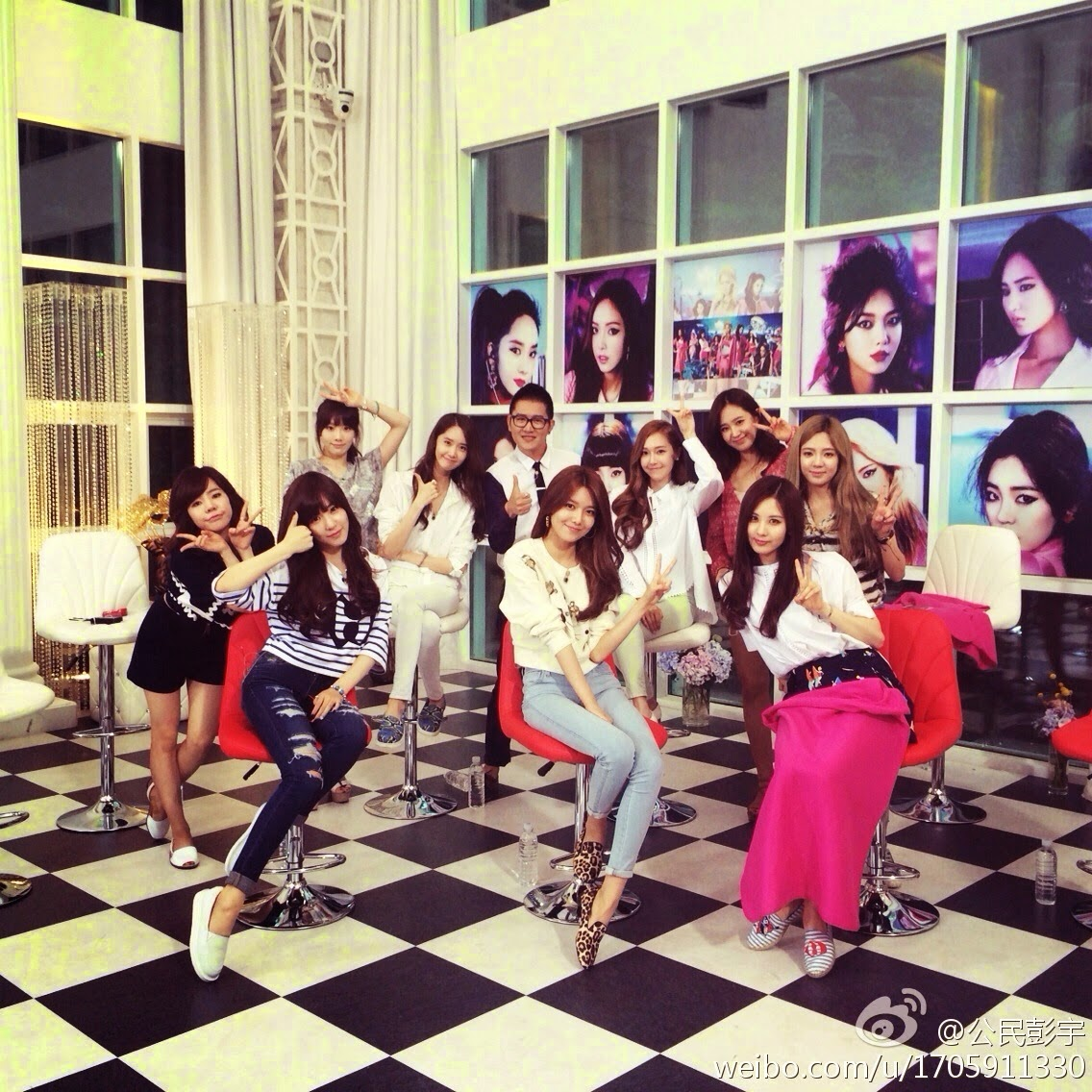 snsd strongest group filming